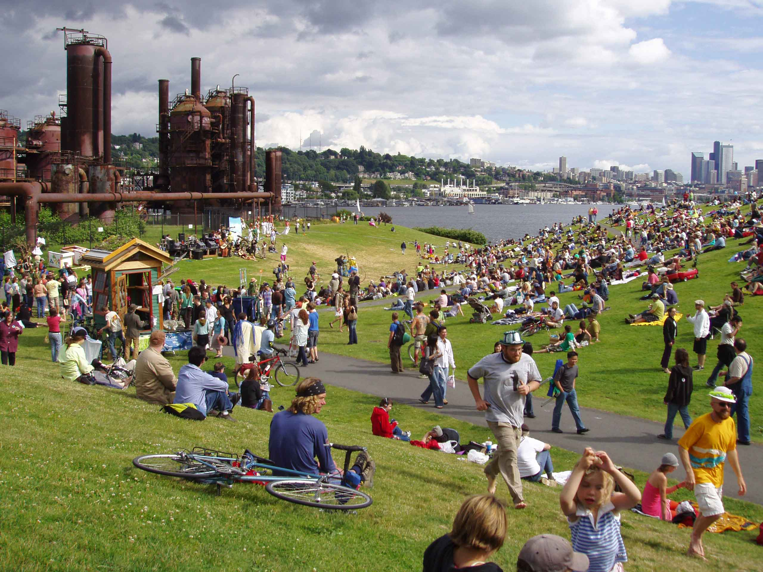 Gas Works Park  U2039 Rich Haag Associates